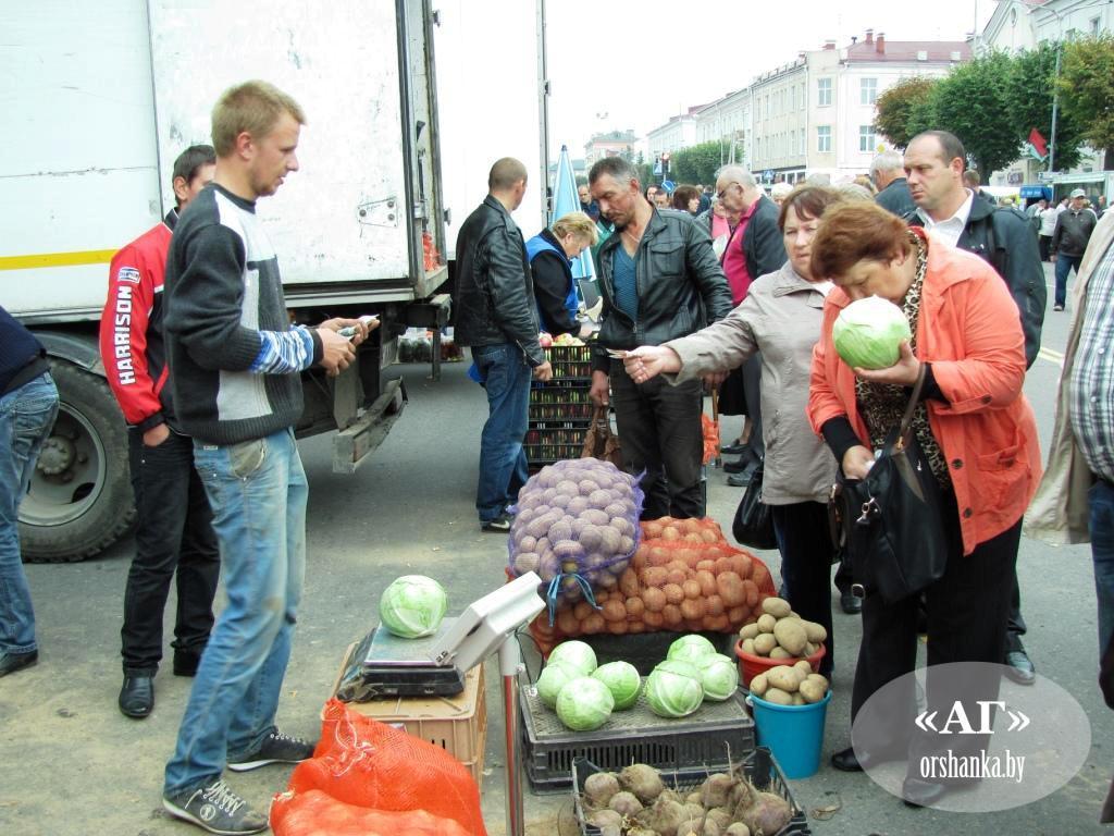 В Оршанском регионе начинается сезон осенних ярмарок