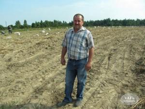 Леонид Шушкевич – хозяин овощных угодий