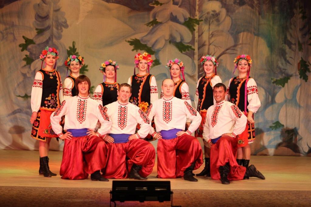 Народный ансамбль танца спадчына