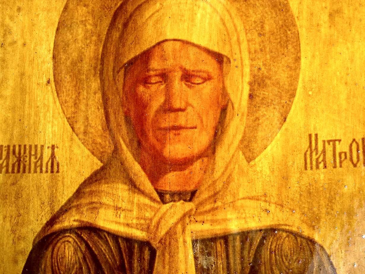 икона святой матронушки: