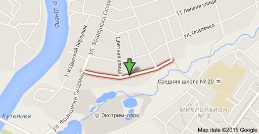 Улица Сержантова в Орше