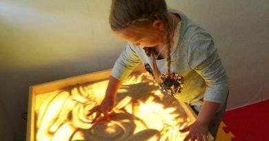На Оршанщине появилась мобильная сенсорная комната для особенных детей