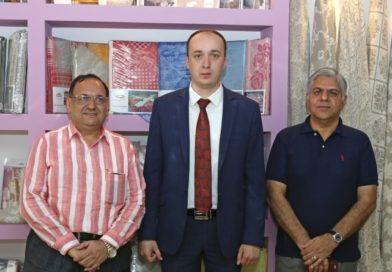 Оршанский льнокомбинат посетили бизнесмены из Индии