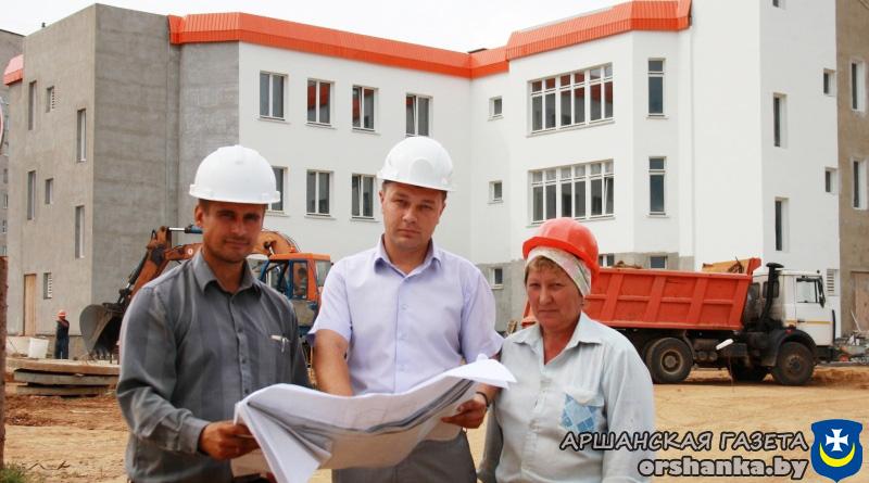 Как идет строительство нового детского сада в Орше