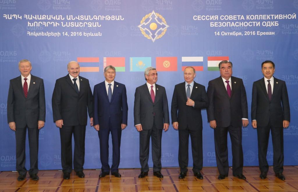 Президент Беларуси принимает участие в саммите ОДКБ в Ереване. Фото Николая Петрова, БЕЛТА.