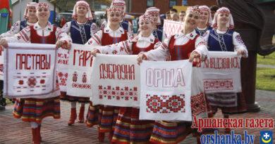Оршанцы помогают Дубровно готовиться к «Дожинкам»