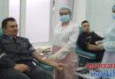 В Орше военнослужащие в рамках благотворительной акции безвозмездно сдали кровь