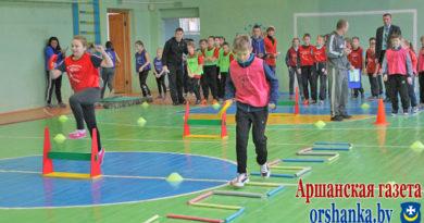 В Орше стартовал международный проект «Детская лёгкая атлетика»