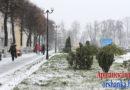 Весь день идет снег. Какой стала Орша 2 ноября (+фото)