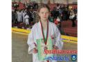 9-летняя оршанка завоевала бронзу на первенстве страны по каратэ