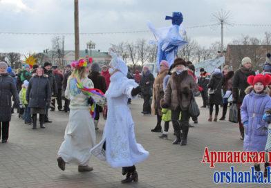 Масленичные гуляния пройдут в Орше 1 марта