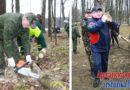 Руководство Витебской области провело субботник в Левках