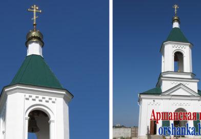 В Оршу доставили икону и частицу мощей преподобного Гавриила Ургебадзе