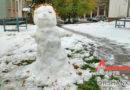 Первый снегопад в Орше: что постят в соцсетях?