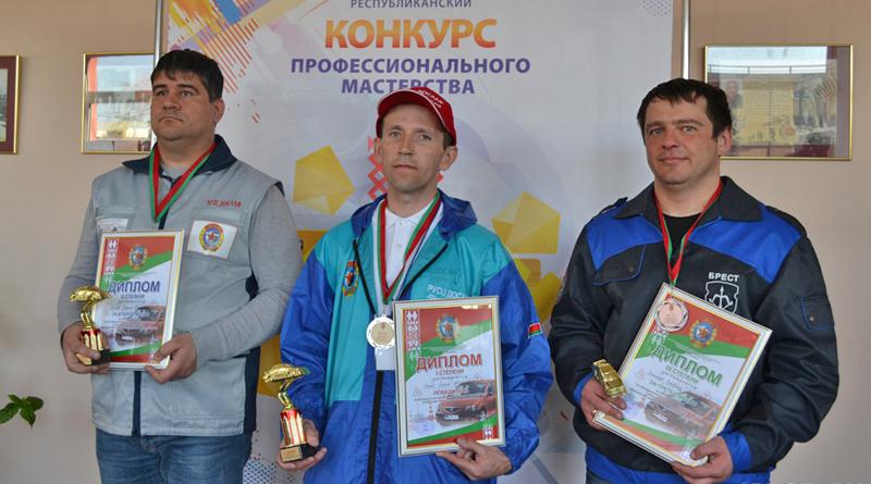 Мастер Оршанской автошколы ДОСААФ стал вторым на республиканских соревнованиях