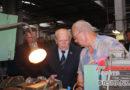 Председатель Комитета госконтроля посетил предприятия Оршанского региона