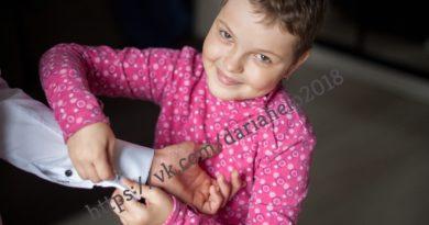 У Даши Сержан из Бреста второй рецидив лейкоза. Идет сбор на лечение в Германии