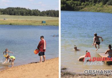 На двух пляжах в Орше нельзя купаться. В воде обнаружили кишечную палочку