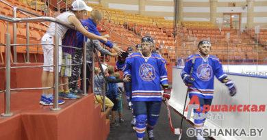 Команда «Локомотив-Орша» в первом официальном матче обыграла юниорскую сборную Беларуси U18