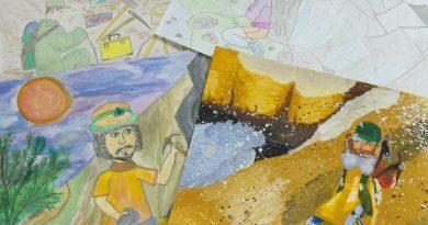 """Юные геологи: в Беларуси проходит конкурс детских рисунков """"Подземные сокровища земли"""""""