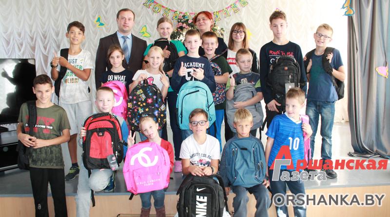 Подарки ко Дню мира вручили воспитанникам Андреевского детского дома