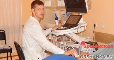 УЗИ-аппарат экспертного класса и видеоэндоскоп: в оршанскую больницу поступает новое медоборудование