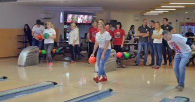 В Орше прошли отборочные игры турнира по боулингу среди работающей молодежи