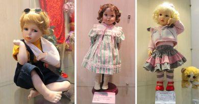 В музее истории и культуры Орши открылась выставка игровых и коллекционных кукол