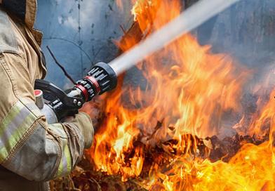 За первую неделю 2019-го в Оршанском районе произошло 7 пожаров