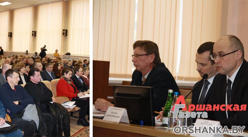 На встрече в райисполкоме обсудили указ о развитии Оршанского района