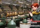 Участники первого республиканского слета работающей молодежи посетили льнокомбинат и локомотивное депо в Орше