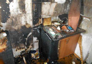 В общежитии мясоконсервного комбината в Орше произошел пожар