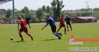 Матчи по футболу, хоккею и волейболу пройдут в Орше