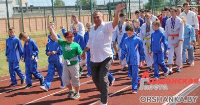 Парад, показательные выступления и товарищеские матчи: как праздновали 100-летие оршанского футбола