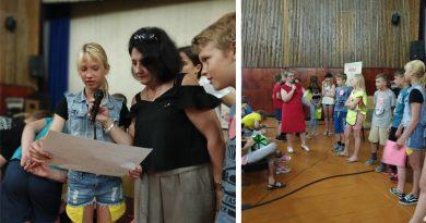 В Барани провели праздник здоровья для школьников