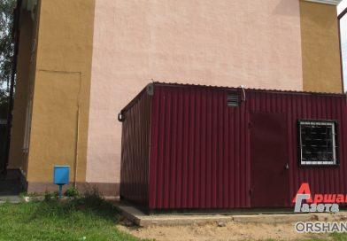 В Болбасово установили модульную котельную