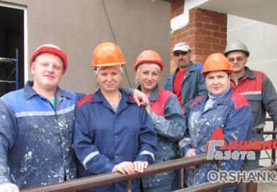 Оршанский стройтрест № 18 сдал под ключ 72-квартирный жилой дом по ул. Ленина