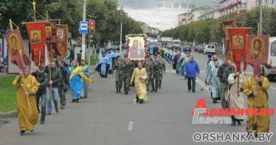 День Оршанской иконы Божией Матери отметили крестным ходом | фото