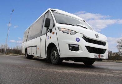 На городских маршрутах в Орше появились новые автобусы
