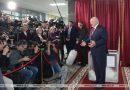 Президент Беларуси Александр Лукашенко проголосовал на выборах и пообщался с журналистами