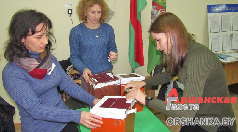 Как голосовала Орша. Репортаж с избирательных участков   фото