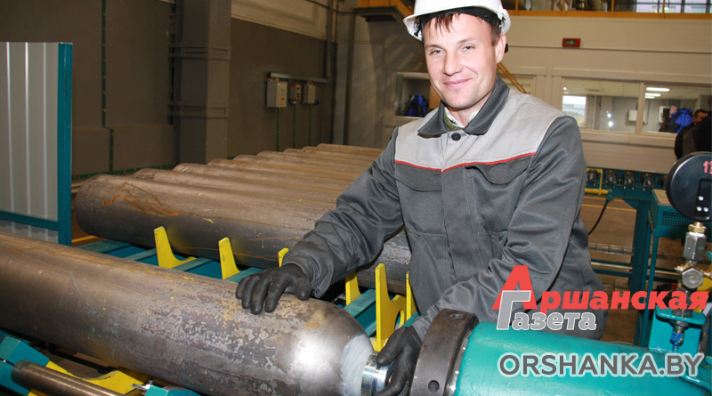 В Орше открыли первый в стране завод по производству стальных бесшовных баллонов | фото