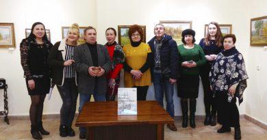Горецкий художник Николай Рыжов представил работы в Оршанской городской художественной галерее Виктора Громыко
