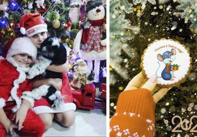 Ёлки, Дед Морозы и много подарков. Чем делились оршанцы в Инстаграм в Новый год | фото