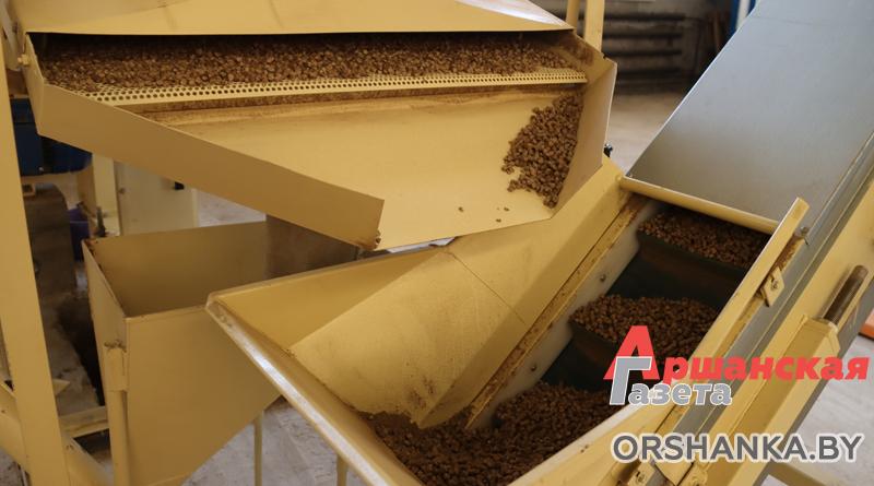 «Оршатеплосети» открыли производство пеллет из костры льна