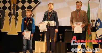 Оршанцы получили награды на международном шахматном турнире