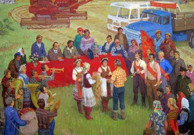 В Орше в галерее «Каляровы шлях» представлены работы о советском прошлом