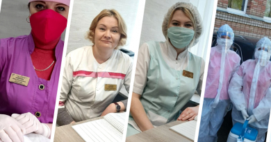 Медработники поликлиник 3 и 4 спешат на помощь к пациентам
