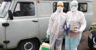 Медработники поликлиники № 5 в борьбе с коронавирусом