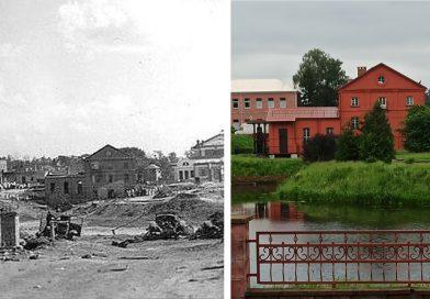 Орша военная и современная. Как изменился город за 76 лет | до и после